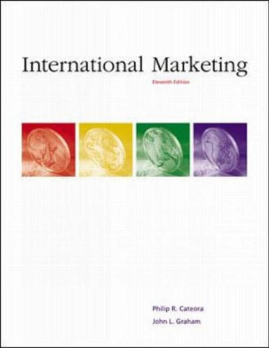 9780072398847: International Marketing