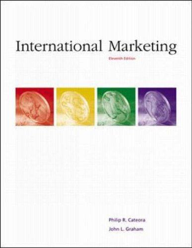 9780072398847: International Marketing (The Mcgraw-Hill/Irwin Series in Marketing)