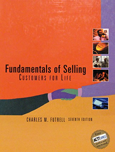 9780072398861: Fundamentals of Selling (Fundamentals of Selling, 7th ed)