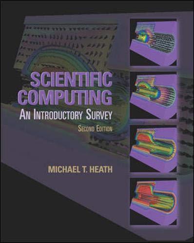 Scientific Computing: Michael T. Heath