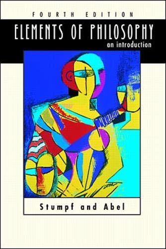 Elements of Philosophy An Introduction: Samuel Enoch Stumpf,
