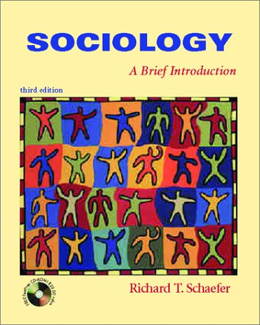 9780072399431: Sociology: A Brief Introduction