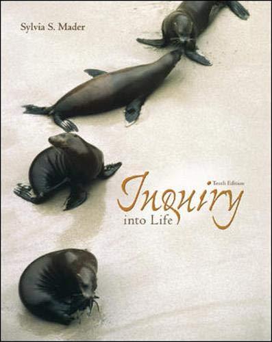 9780072399653: Inquiry into Life