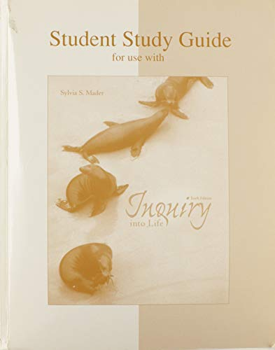 9780072399721: Inquiry into Life (Student Study Guide)