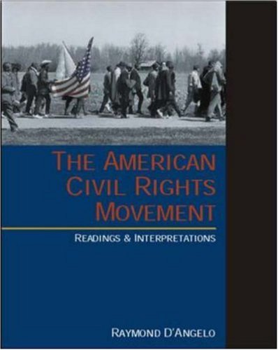 9780072399875: The American Civil Rights Movement: Readings and Interpretations