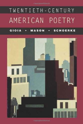 9780072400199: Twentieth-Century American Poetry