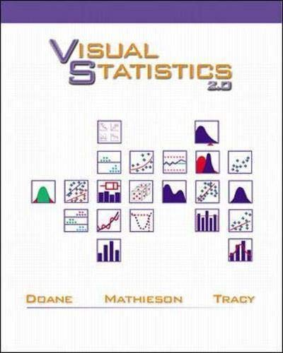 9780072400946: Visual Statistics Text with Student CD-ROM package