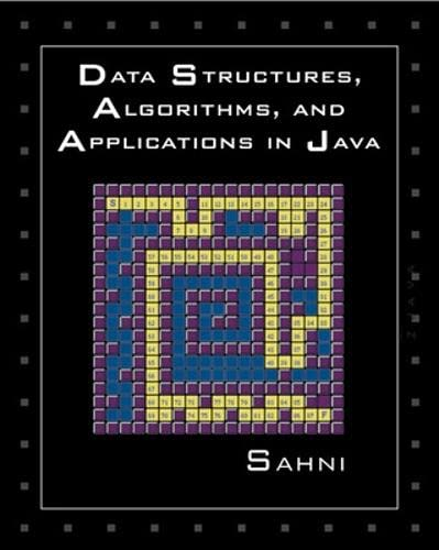 9780072401271: Data Structures, Algorithms, and Applications in Java