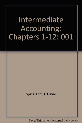 9780072401332: Intermediate Accounting: Chapters 1-12