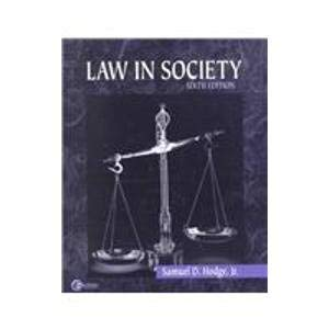 9780072401974: Law in Society