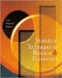 Statistical Techniques in Business and Economics 11th: Lind, Douglas A.; Mason, Robert Deward; ...