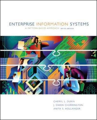 9780072404296: Enterprise Information Systems: A Pattern-Based Approach