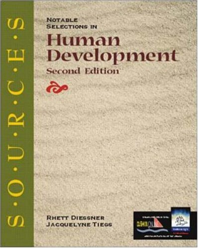 9780072404388: Sources: Notable Selections in Human Development