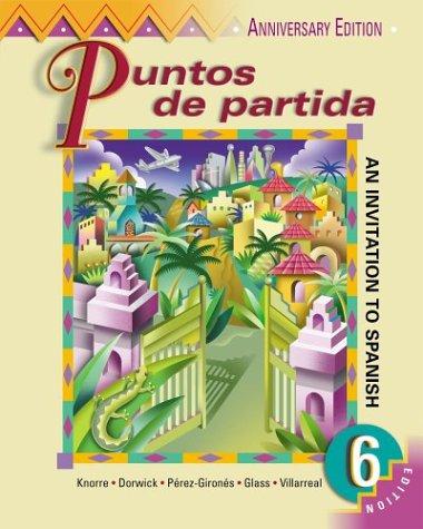9780072404425: Puntos de partida (Student Edition + Listening Comprehension Audio CD)