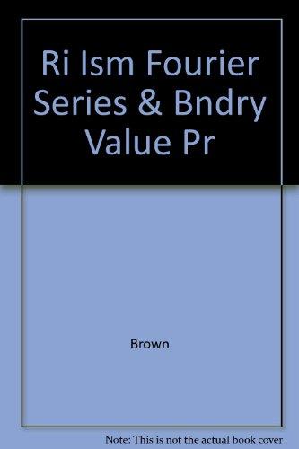9780072404838: Ri Ism Fourier Series & Bndry Value Pr