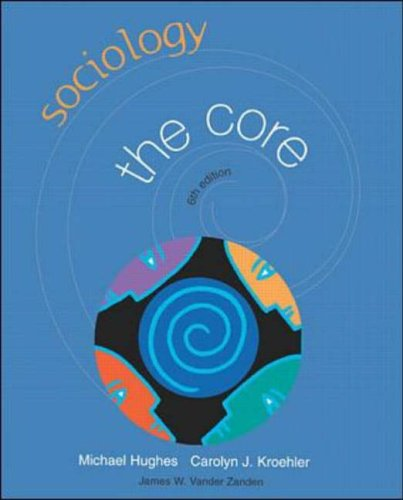 9780072405354: Sociology: The Core