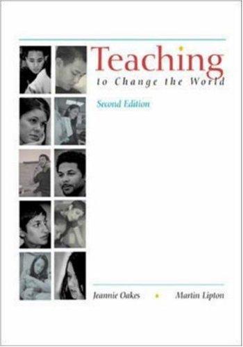 9780072407389: Teaching To Change The World