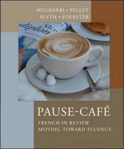 9780072407846: Pause-Cafe: French in Review - Moving Toward Fluency