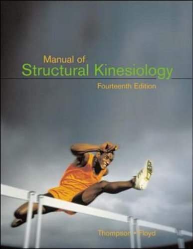 9780072408423: Manual of Structural Kinesiology with Dynamic Human 2.0