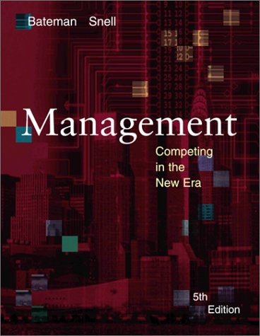 9780072408591: Management: Competing in the New Era
