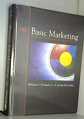 9780072409475: Basic Marketing: A Global-Managerial Approach (Coleccion Tamesis: Serie C, Fuentes Para La Historia Del Teatro En Espana)