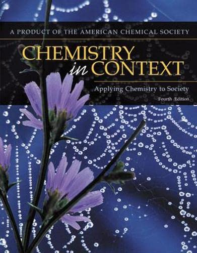 9780072410150: Chemistry In Context: Applying Chemistry To Society