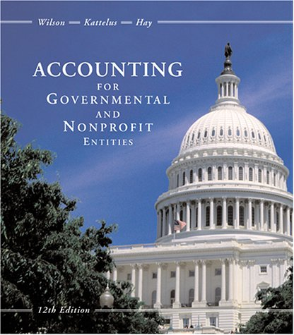 9780072410266: Accounting for Governmental and Nonprofit Entities