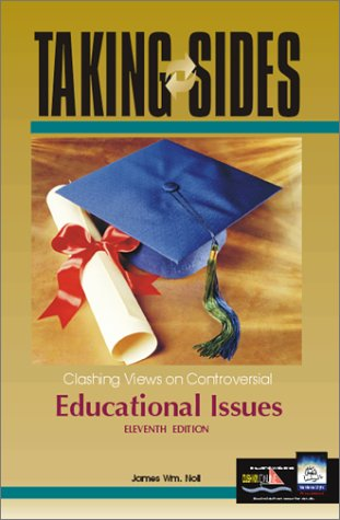 9780072410334: Taking Sides: Clashing Views on Controversial Educational Issues