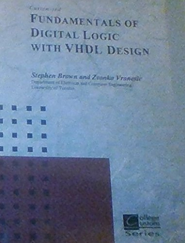 9780072410440: Fundamentals of Digital Logic with VHDL Design