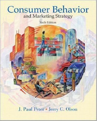 9780072410648: Consumer Behavior (McGraw-Hill/Irwin Series in Marketing)