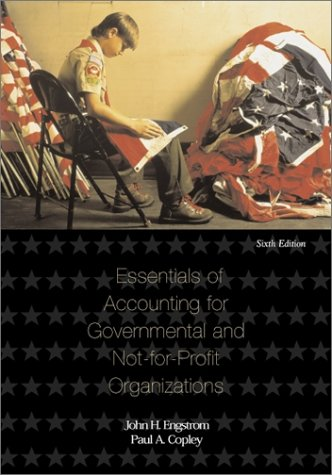 9780072411720: Essentials of Accounting for Governmental and Not-for-profit Organizations