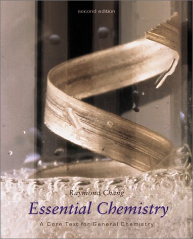 9780072412147: Essential Chemistry: A Core Text for General Chemistry