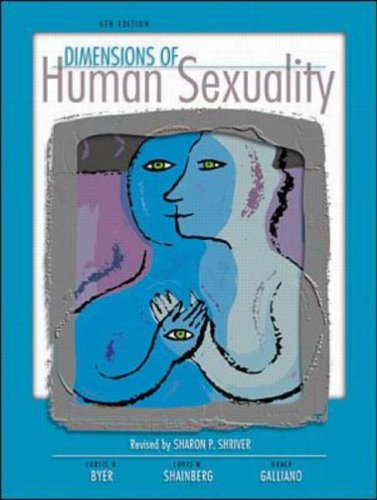 9780072412789: Dimensions In Human Sexuality