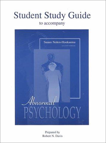 9780072412864: Abnormal Psychology