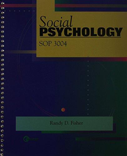 9780072413328: Social Psychology