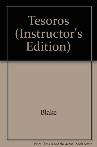 9780072413397: Tesoros (Instructor's Edition) (English and Spanish Edition)