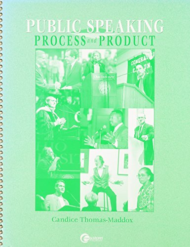 9780072414042: Public speaking process and product