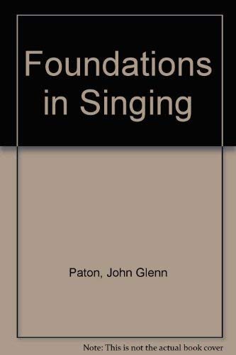 9780072414257: Foundations in Singing