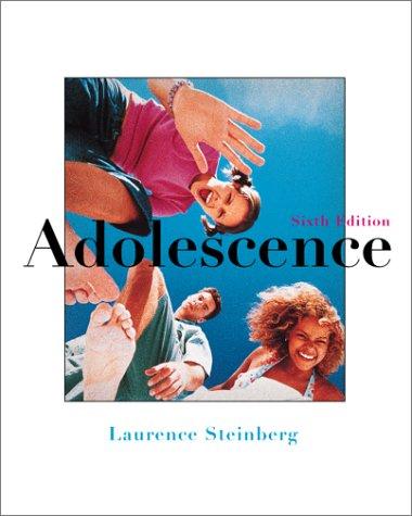 9780072414561: Adolescence
