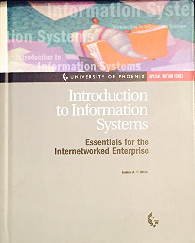 9780072414769: Introduction to Information Systems (Essentials for the Internetworked Enterprise)
