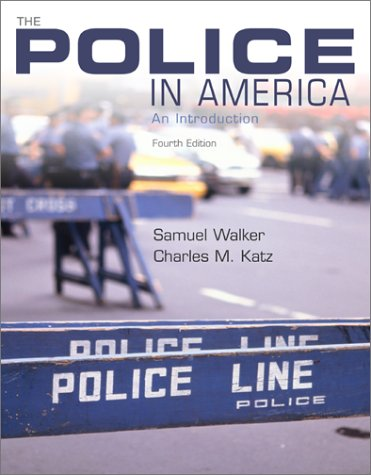 The Police in America: An Introduction [Nov