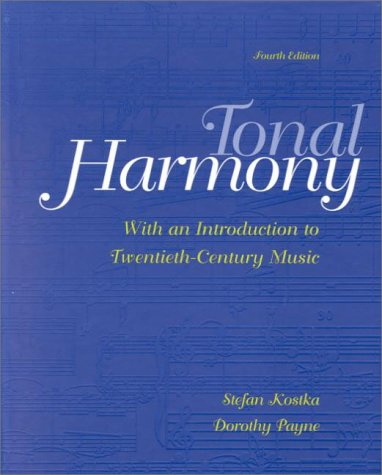 9780072415704: Tonal Harmony, With an Introduction to Twentieth-Century Music