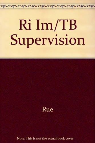 9780072415957: Ri Im/TB Supervision