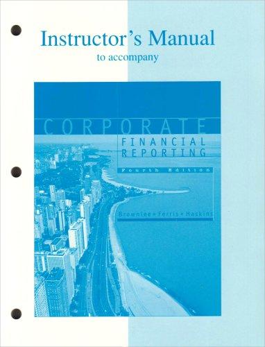 9780072416244: Ri Im Corp Financial Reporting