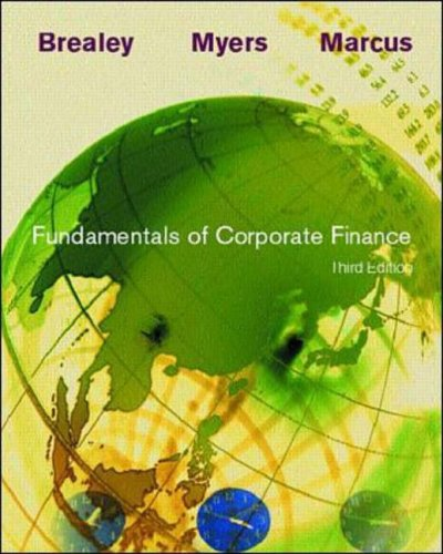 9780072416275: Fundamentals of Corporate Finance (Irwin Series in Finance, Insurance, and Real Estate.)