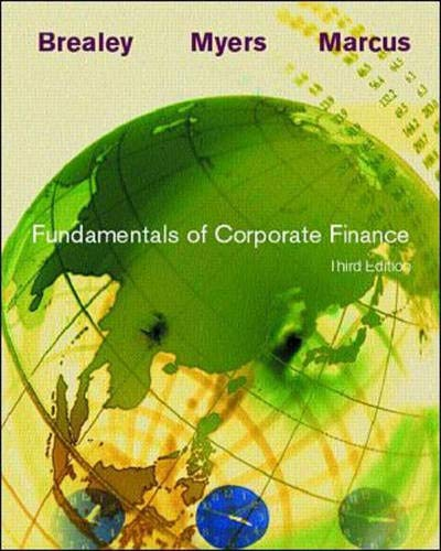 Fundamentals of Corporate Finance (Irwin Series in: Richard A. Brealey,