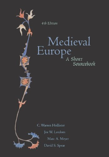 9780072417388: Medieval Europe: A Short Sourcebook