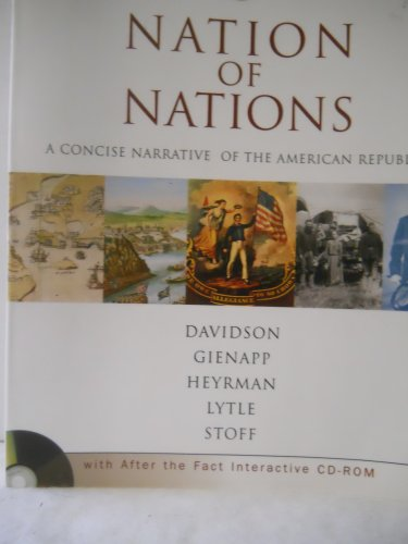 9780072417753: Nation of Nations: A Concise Narrative of the American Republic