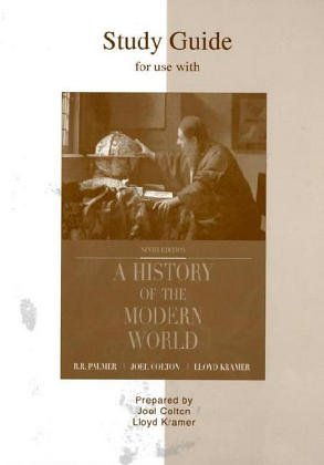9780072417869: Study Guide to accompany A History of the Modern World