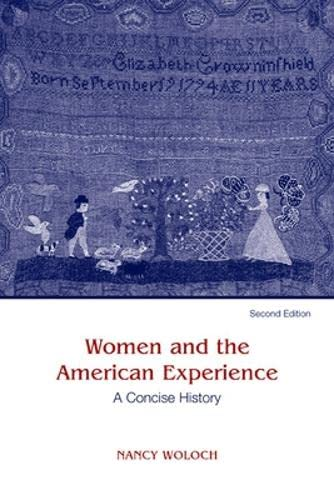 9780072418217: Women and the American Experience: A Concise History